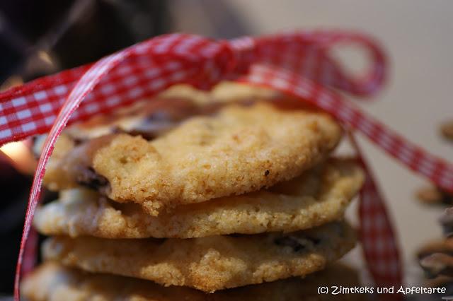 leckere und einfache wei e schokolade cranberry cookies. Black Bedroom Furniture Sets. Home Design Ideas