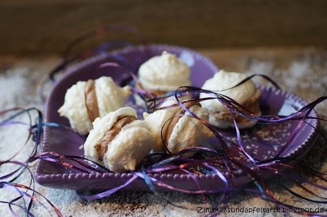 Kokos Schoko Macarons Eine Sünde Wert Zimtkeks Und Apfeltarte