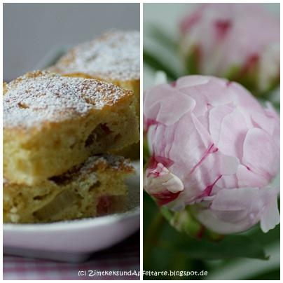 Rhabarber vanille schmand kuchen