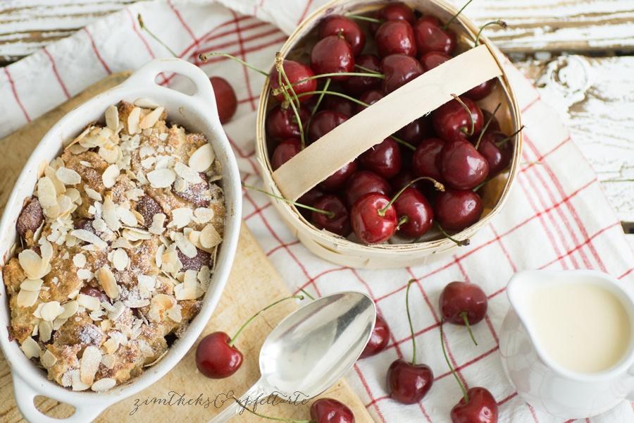 Rezept klassischer Kirschenmichel - ganz einfach - wie bei Omi oder Mutti
