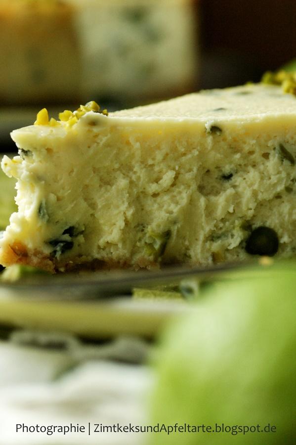 Lecker und einfach zu backen: Limetten-Pistazien-Cheesecake