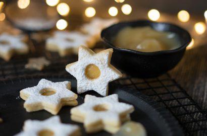 Spitzbuben mit Lemon-Curd - einfach und lecker