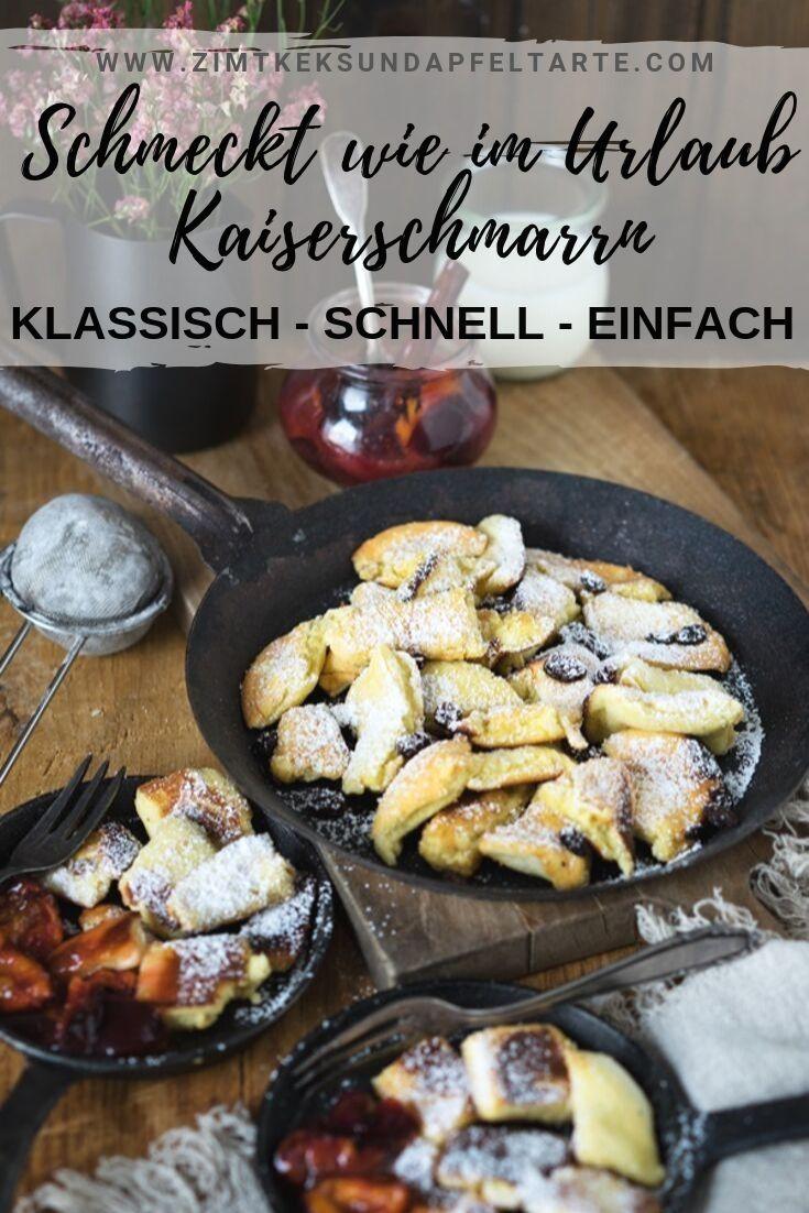 Gelingsicheres und einfache Rezept Klassischer Kaiserschmarrn | ZimtkeksundApfeltarte.com