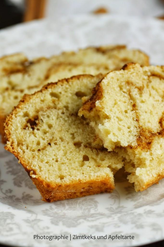einfacher und schneller Zimtschneckenkuchen
