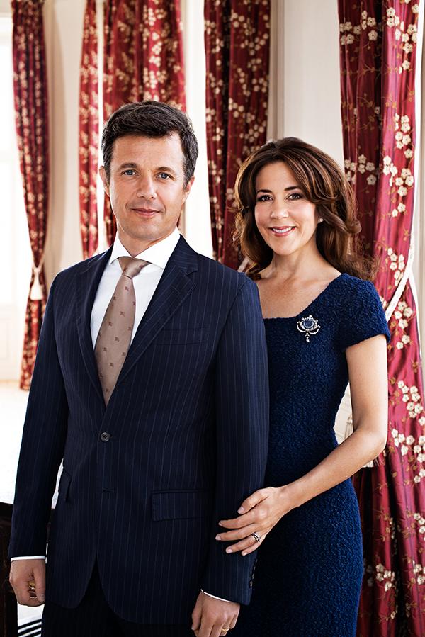 Das dänische Kronprinzenpaar . Foto Franne Voight