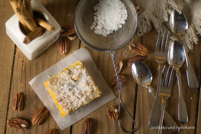 Kürbis-Cheesecake mit Knusperstreuseln schnell gemacht
