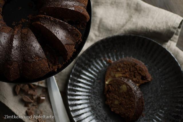 Schokoladen-Zucchini-Kuchen 1