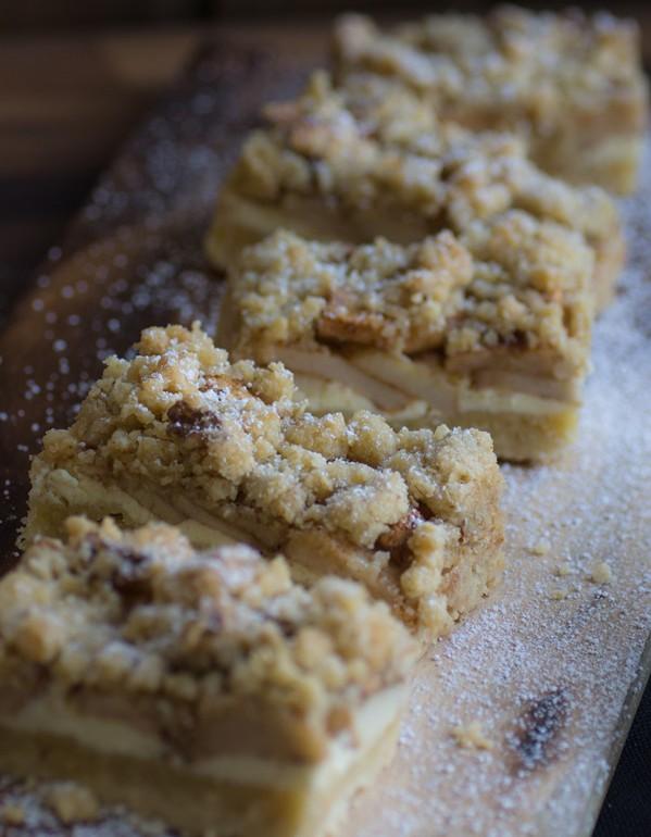Apfel Cheesecake Mit Walnuss Streuseln Einfach Und Lecker