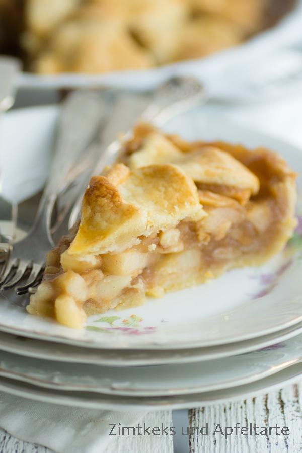 Apple-Pie nach meinem einfachen und schnellen Rezept