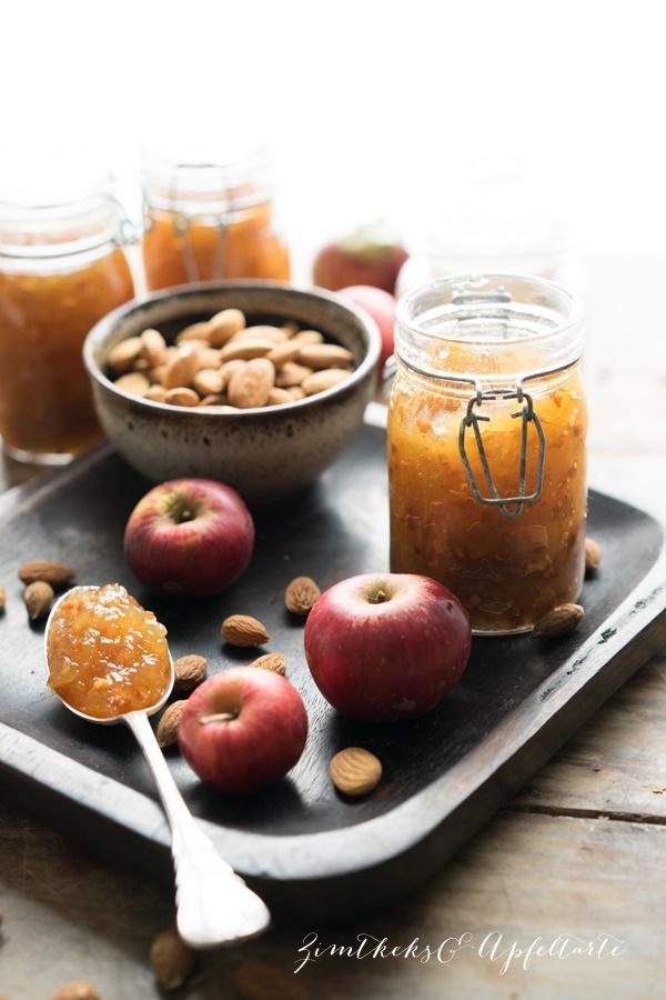 Bratapfel-Marmelade  - Tolles Geschenk aus der Küche von ZimtkeksundApfeltarte.com