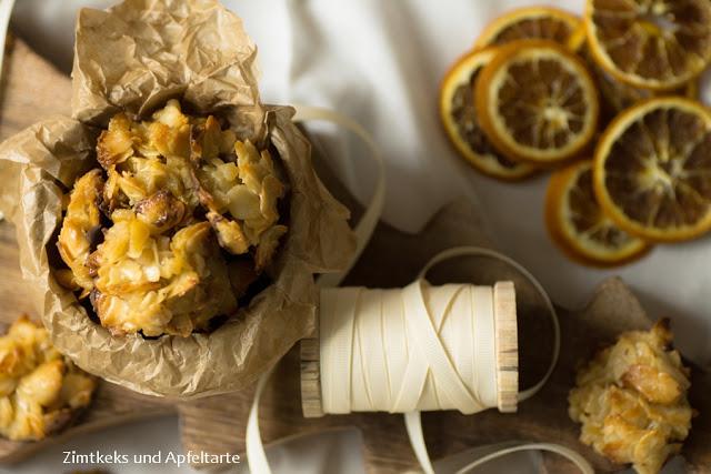 Orangen-Florentiner, chewy und fruchtig