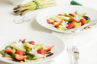 Spargel-Erdbeer-Salat Titel