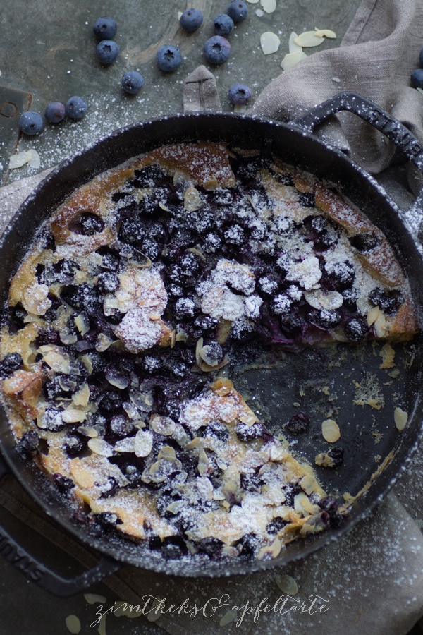 Blaubeer Dutch Baby