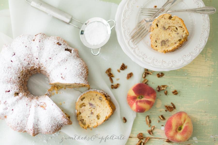 Kokos-Pekan-Pfirsichkuchen (4 von 8)