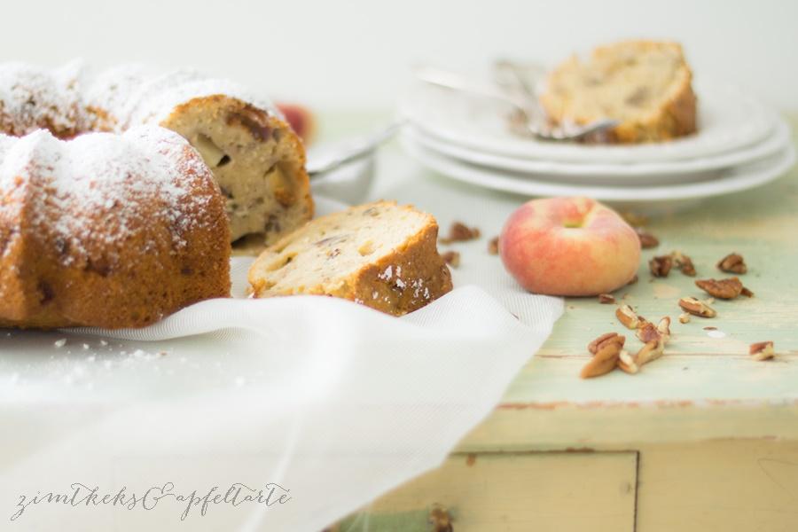 Kokos-Pekan-Pfirsichkuchen (6 von 8)