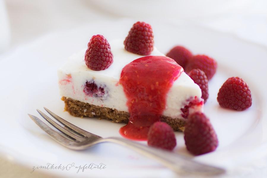 Himbeer-Joghurt-Torte ohne Backen - gelingsicher, fruchtig lecker