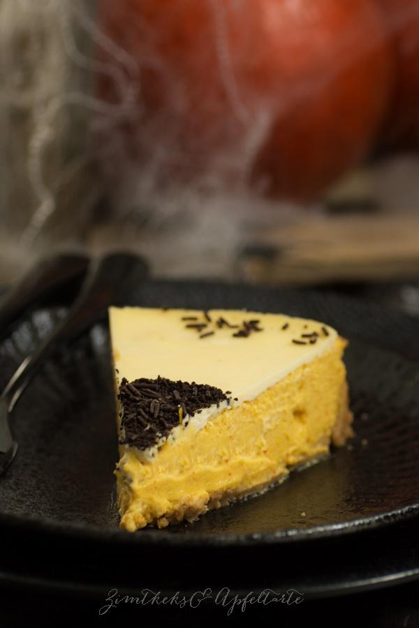 Kürbis Cheesecake einfach und lecker