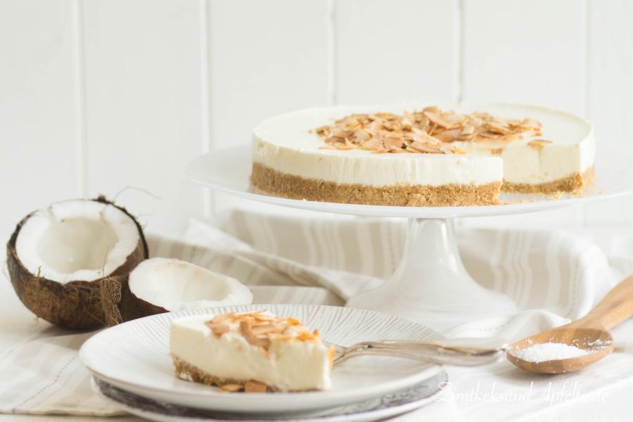Cheesecake mit Kokos und Limette