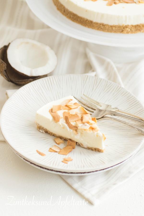 Kokos-Limetten-Cheesecake