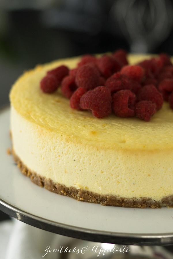 Cremiger classic New York Cheesecake