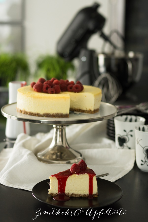 Classic New York Cheesecake - fluffig, cremig, lecker