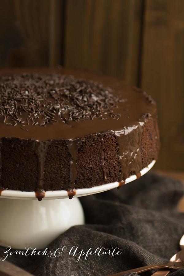 Rezept für saftigen und leckeren Schokoladenkuchen