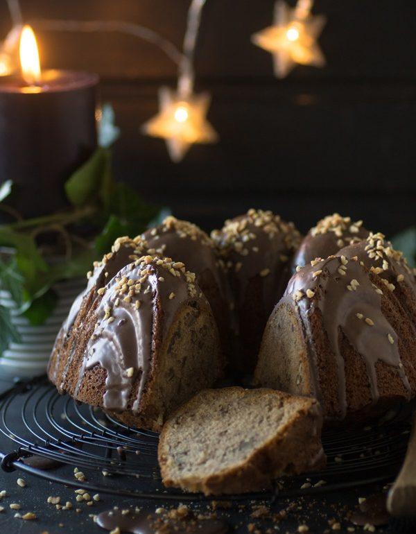 Maronengugelhupf mit Glühwein
