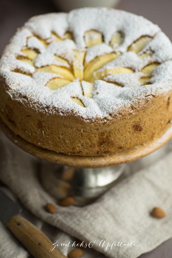 Glutenfrei und Low Carb: Apfelkuchen