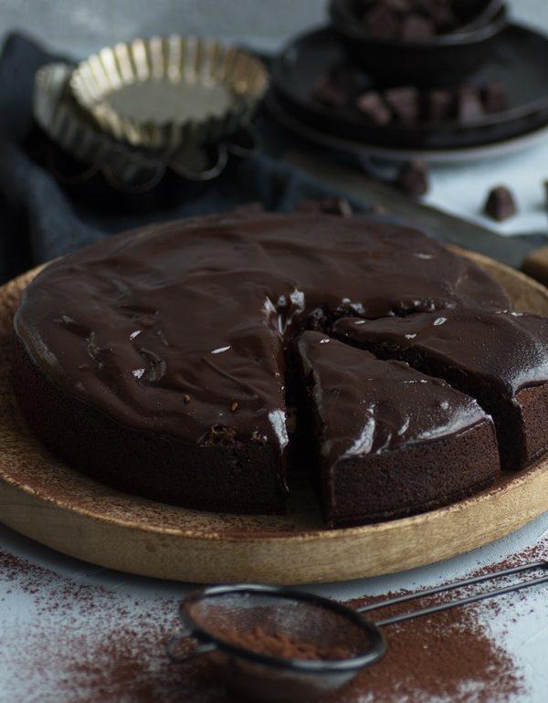 Schnelles Rezept Fur Saftiger Schokoladenkuchen Mit Rote Bete