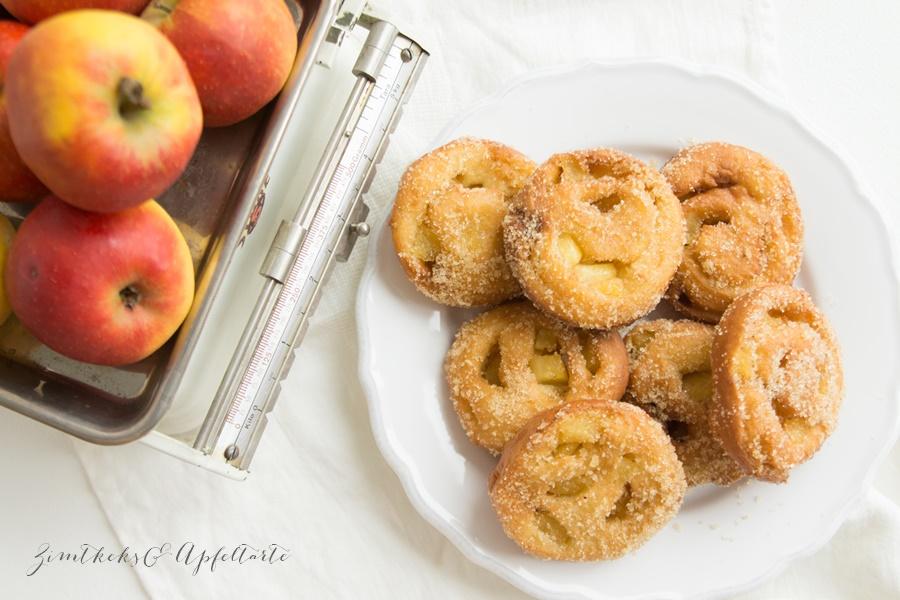 Einfaches Rezept für Apfelballen