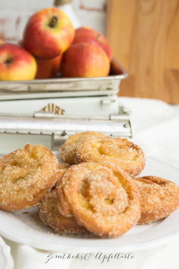 Super einfaches Rezept für Apfelballen