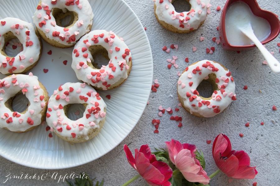 Vanille Donuts low carb - einfach schnell und lecker