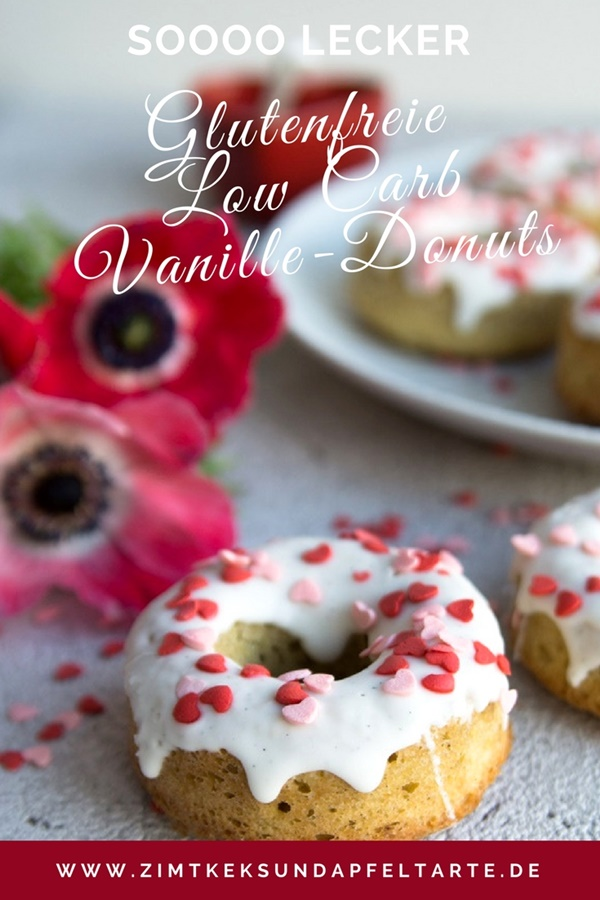 Glutenfreie Low Carb Donuts - PINTEREST
