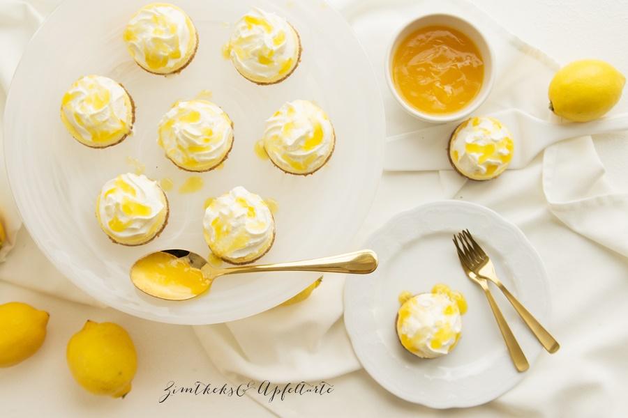 Einfach backen: Zitronen-Cheesecake mit Lemon-Curd