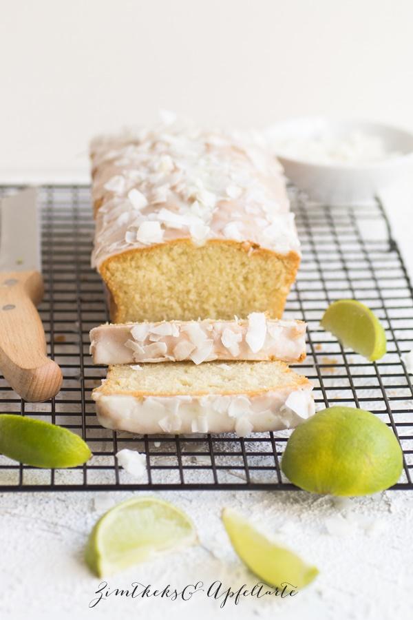 Limetten-Kokos-Kuchen super fruchtig und lecker