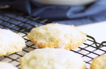 Einfaches Rezept für Zitronen-Mohn-Cookies