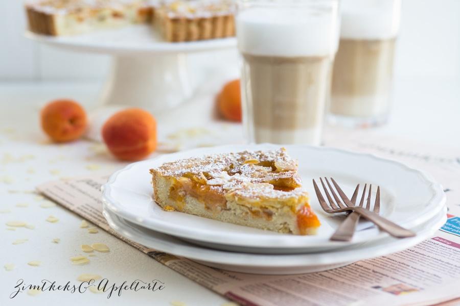 Aprikosen-Frangipane-Tarte - einfach und lecker