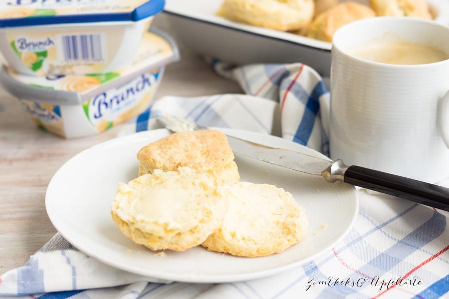 lockere Buttermilch-Biscuits