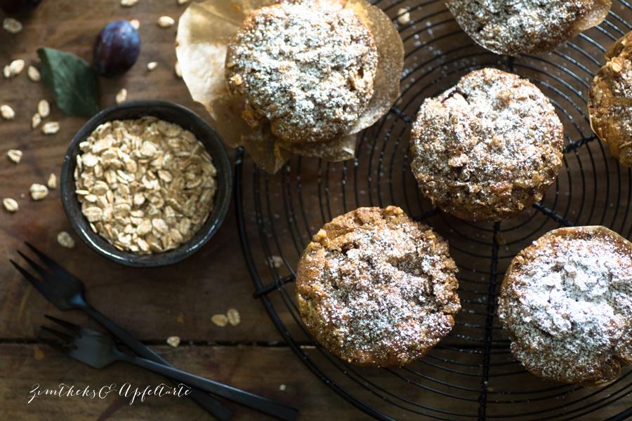 Zwetschgen-Joghurt-Muffins von ZimtkeksundApfeltarte.com