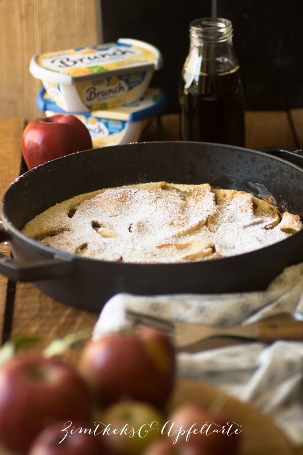 Schnelles Soulfood: Apfel Dutch Baby