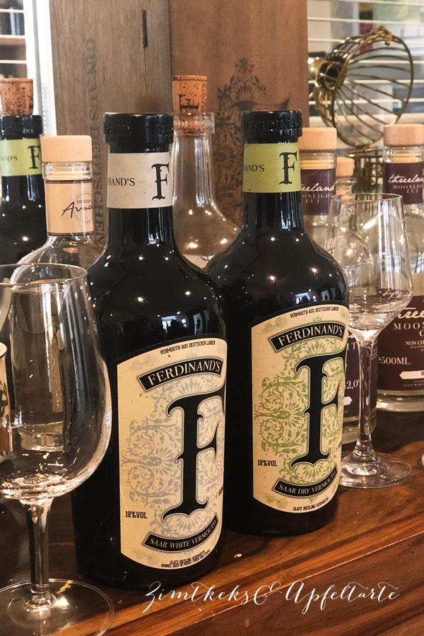 Ferdinand'Saar Dry Gin - ZimtkeksundApfeltarte.com