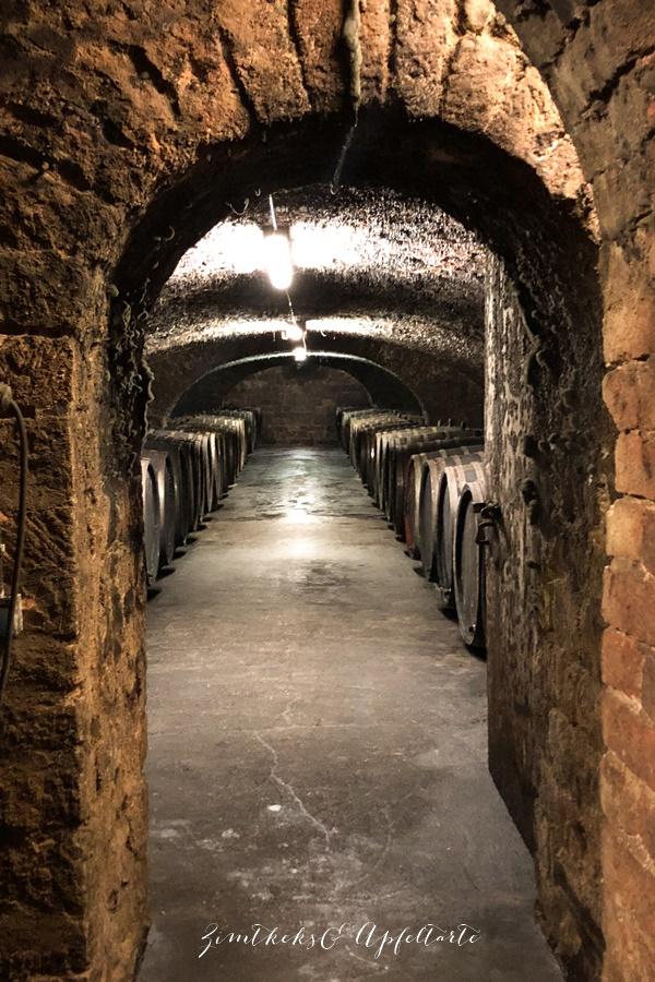 Holzfässer Weingut Geltz Zilliken - ZimtkeksundApfeltarte.com