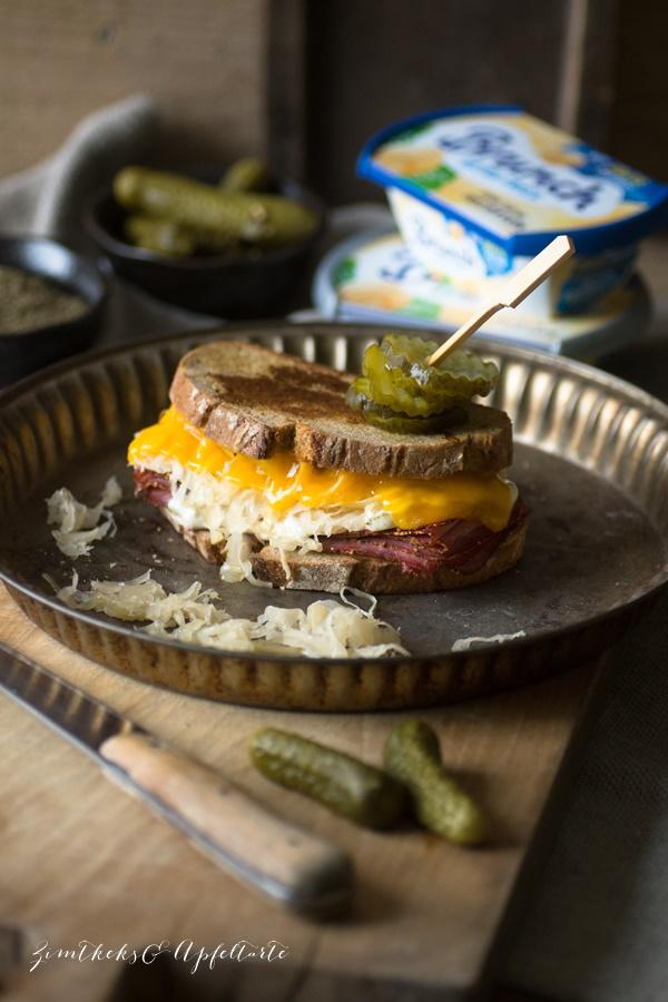 Reuben Grilled Cheese Sandwich - einfach selber machen