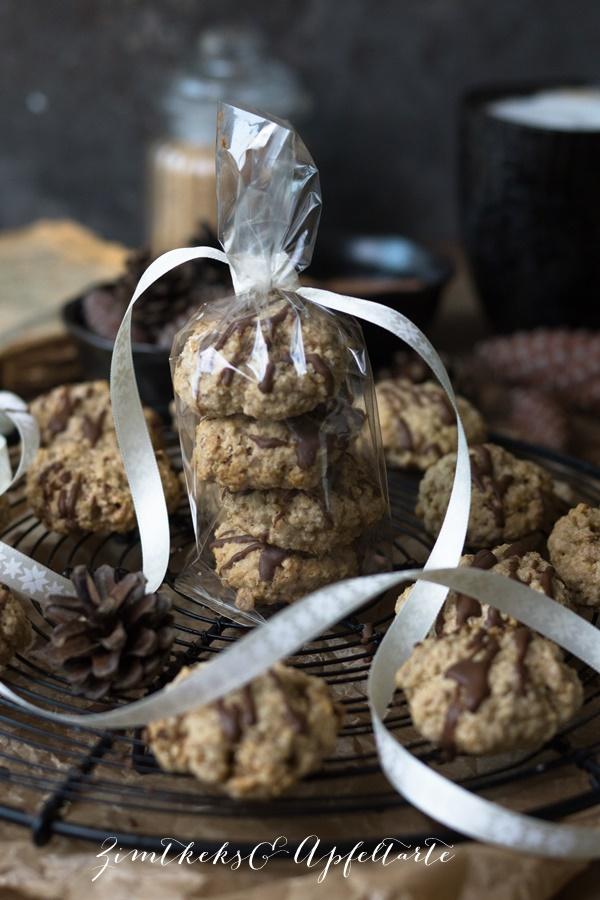 Zimt-Haferflocken-Kekse lecker und einfach