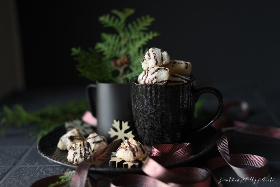 Omas saftige und einfache Kokosmakronen - Rezept von Zimtkeksundapfeltarte