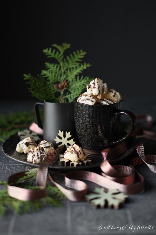 Saftige Kokosmakronen einfache Rezept von ZimtkeksundApfeltarte