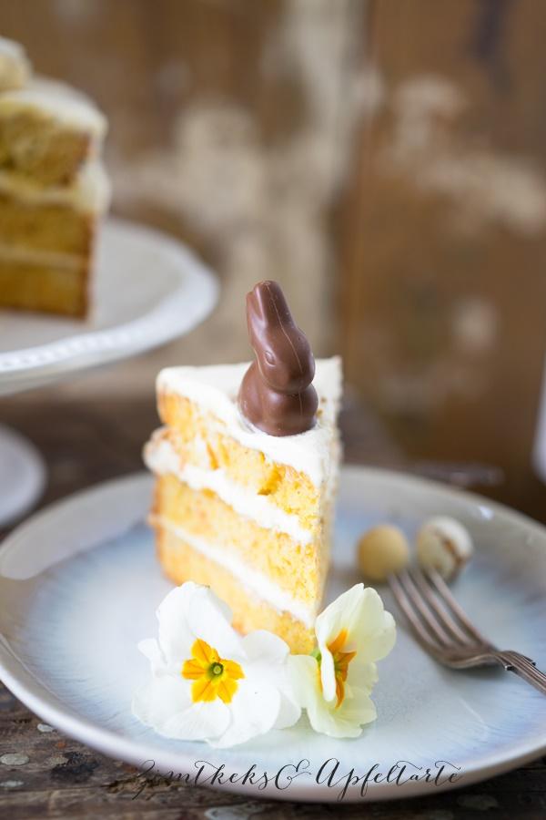 Rübli-Eierlikör-Torte - einfach schnell und super lecker von ZimtkeksundApfeltarte.com