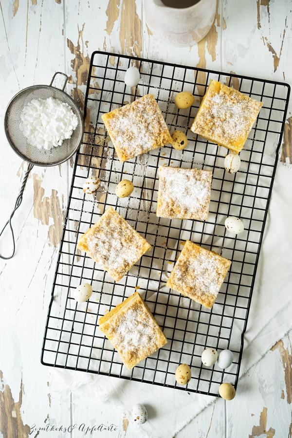Rübli-Cheesecake mit Streuseln