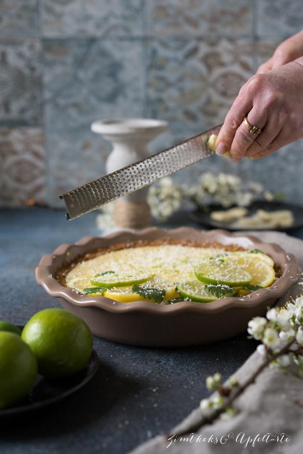 Key Lime Pie - Rezept von ZimtkeksundApfeltarte.com