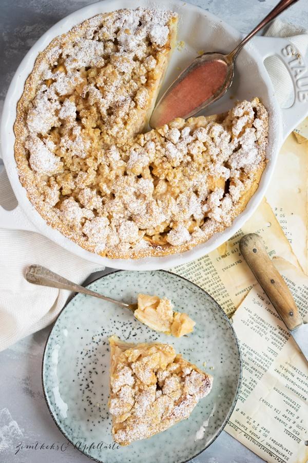 Applel Crumble Pie - lecker, einfach, fruchtig
